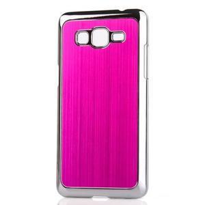 Obal s hliníkovými chrbtom na Samsung Galaxy Grand Prime - rose
