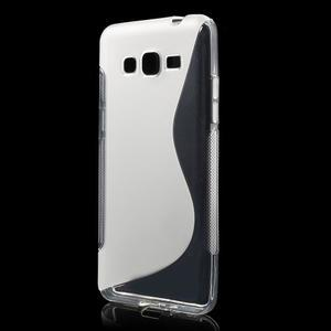 S-line gélový obal pre Samsung Galaxy Grand Prime - transparentný - 1