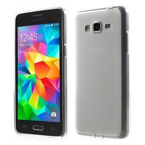 Oboustranně matný kryt na Samsung Galaxy Grand Prime - biely - 1