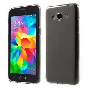 Oboustranně matný kryt na Samsung Galaxy Grand Prime - šedý - 1