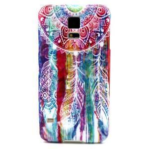 Luxury gélový obal pre mobil Samsung Galaxy S5 - lapač snov - 1