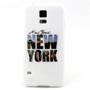 Luxury gélový obal pre mobil Samsung Galaxy S5 - New York - 1
