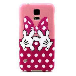Luxury gélový obal pre mobil Samsung Galaxy S5 - Minie - 1