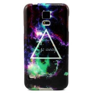 Luxury gélový obal pre mobil Samsung Galaxy S5 - triangl - 1