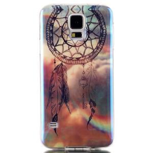 Blu-ray gelový obal s odlesky na Samsung Galaxy S5 - dream - 1