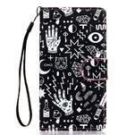 Knížkové PU kožené puzdro pre Samsung Galaxy S5 - - 1/6