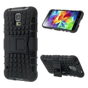 Outdoor odolný kryt na mobil Samsung Galaxy S5 - černý - 1