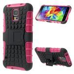 Outdoor odolný kryt pre mobil Samsung Galaxy S5 - rose - 1/7