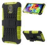 Outdoor odolný kryt pre mobil Samsung Galaxy S5 - zelený - 1/7