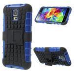 Outdoor odolný kryt pre mobil Samsung Galaxy S5 - modrý - 1/7