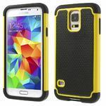 Odolný obal 2v1 na mobil Samsung Galaxy S5 - žlutý - 1/6