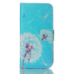 Stand peňaženkové puzdro pre Samsung Galaxy S5 mini - odkvetlá púpava - 1