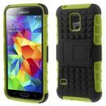 Outdoor odolný obal na mobil Samsung Galaxy S5 mini - zelený - 1/7