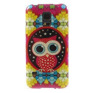 Owls gelový obal na Samsung Galaxy S5 mini - sovička - 1
