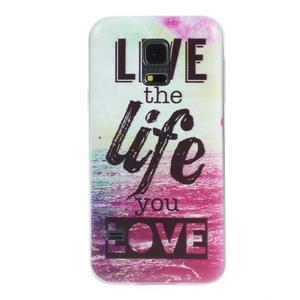 Ultratenký obal na mobil Samsung Galaxy S5 mini - life - 1