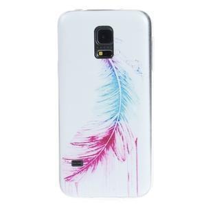 Ultratenký obal pre mobil Samsung Galaxy S5 mini - pierko - 1