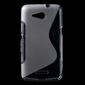 S-line gélový obal pre Sony Xperia E4g - transparentný - 1