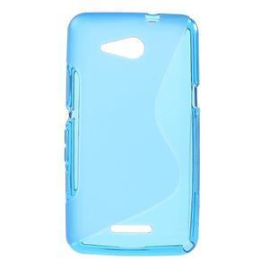 S-line gélový obal pre Sony Xperia E4g -  modrý - 1