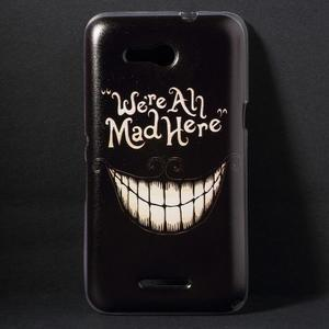 Gélový obal pre Sony Xperia E4g - úsmev - 1