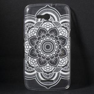 Gélový obal pre Sony Xperia E4g - henna - 1