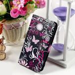Peňaženkové puzdro na Sony Xperia E4g - motýlikovia - 1/7