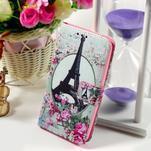 Peňaženkové puzdro pre Sony Xperia E4g - Eiffelova veža - 1/7