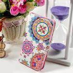 Peňaženkové puzdro pre Sony Xperia E4g - mandala - 1/7