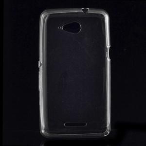 Ultra tenký gélový obal na Sony Xperia E4g - transparentný - 1