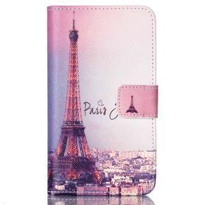 Emotive knížkové pouzdro na Sony Xperia E4g - Eiffelova věž - 1