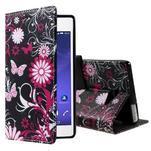 Standy peněženkové pouzdro Sony Xperia M2 Aqua - kouzelní motýlci - 1/6