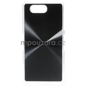 Metalický kryt na Sony Xperia Z3 Compact - černý - 1