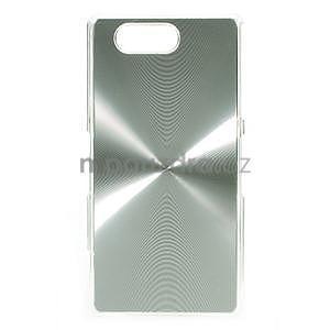 Metalický kryt pre Sony Xperia Z3 Compact - strieborný - 1
