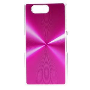 Metalický kryt pre Sony Xperia Z3 Compact - rose - 1