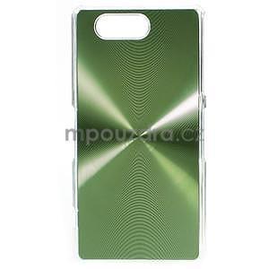 Metalický kryt pre Sony Xperia Z3 Compact - zelený - 1