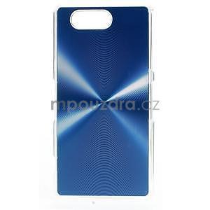 Metalický kryt na Sony Xperia Z3 Compact - modrý - 1