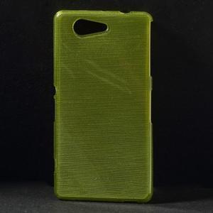 Brúsený obal pre Sony Xperia Z3 Compact D5803 - zelený - 1