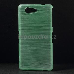 Brúsený obal pre Sony Xperia Z3 Compact D5803 - azurový - 1