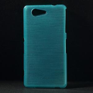 Brúsený obal pre Sony Xperia Z3 Compact D5803 - tyrkysový - 1