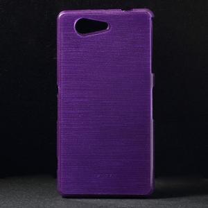 Brúsený obal pre Sony Xperia Z3 Compact D5803 - fialový - 1