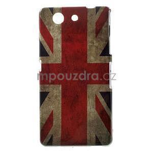 Gélový obal pre Sony Xperia Z3 Compact - UK vlajka - 1