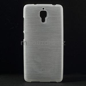 Broušený kryt na Xiaomi 4 MI4 - biely - 1