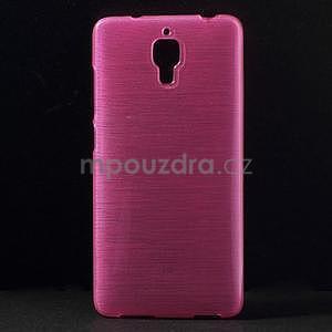 Brúsený kryt pre Xiaomi 4 MI4 - rose - 1