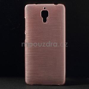 Brúsený kryt pre Xiaomi 4 MI4 - ružový - 1
