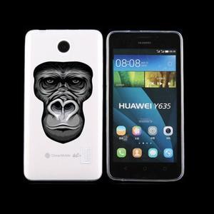 Animal gelový obal na Huawei Y635 - opice - 1