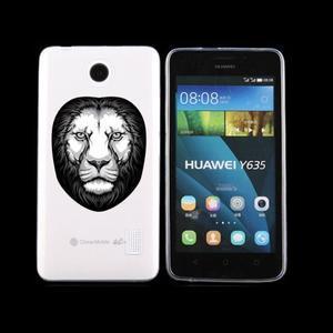 Animal gelový obal na Huawei Y635 - lev - 1