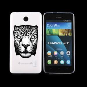 Animal gelový obal na Huawei Y635 - leopard - 1
