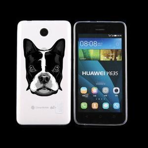 Animal gelový obal na Huawei Y635 - pes - 1