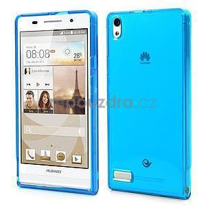 Gélové puzdro na Huawei Ascend P6 - modré - 1