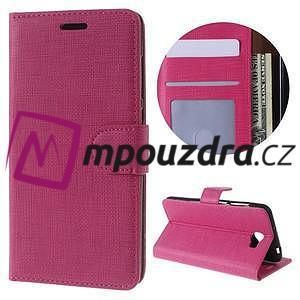 Clothy peněženkové puzdro na Huawei Y5 II - rose - 1