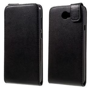 Černé flipové puzdro na Huawei Y5 II - 1